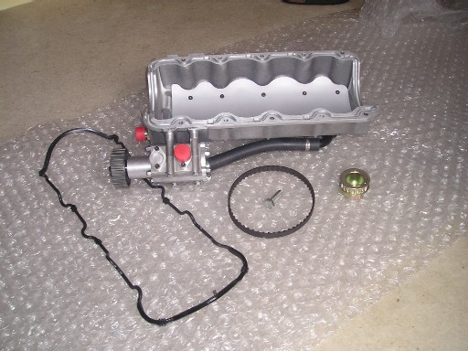 New Zetec Dry Sump Kit By Pace New Dcoe Tbs Inlet Man F For