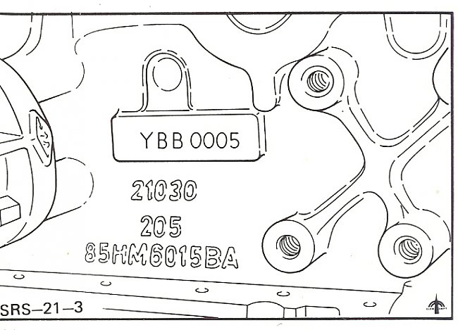 cosworth engine number