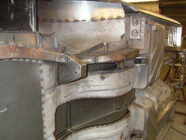 Modding Mk1 Cortina Rear Outer Wheel Arches Mini Tubs