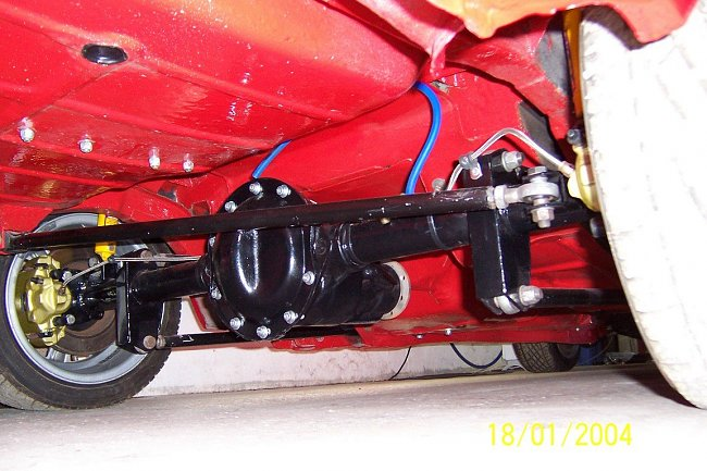 escort 4 link rear suspension