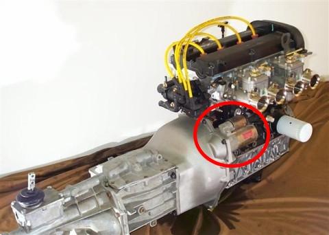 Bellhousing Zetec+T5 gearbox