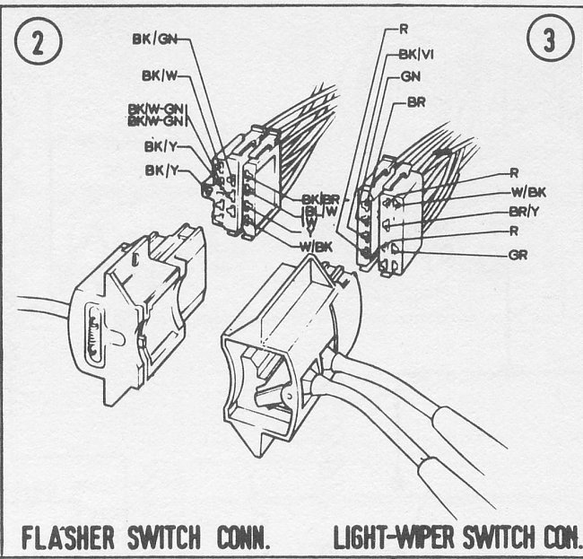 Help Wanted Mk2 Escort Wiper Motor Switch Wiring