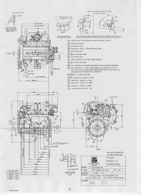 ford model a engine dimensions
