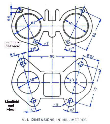 Help Wanted Cad Drawing Of Weber Dcoe