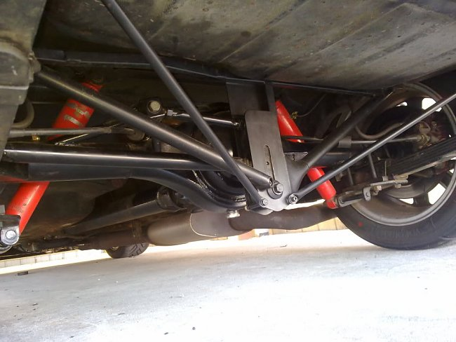 Other Performance Suspension Escort Mk1 Mk2 Rear Axle Anti Tramp ...