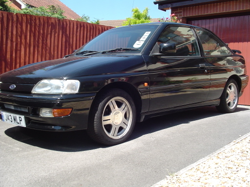 black ford escort rs   sale