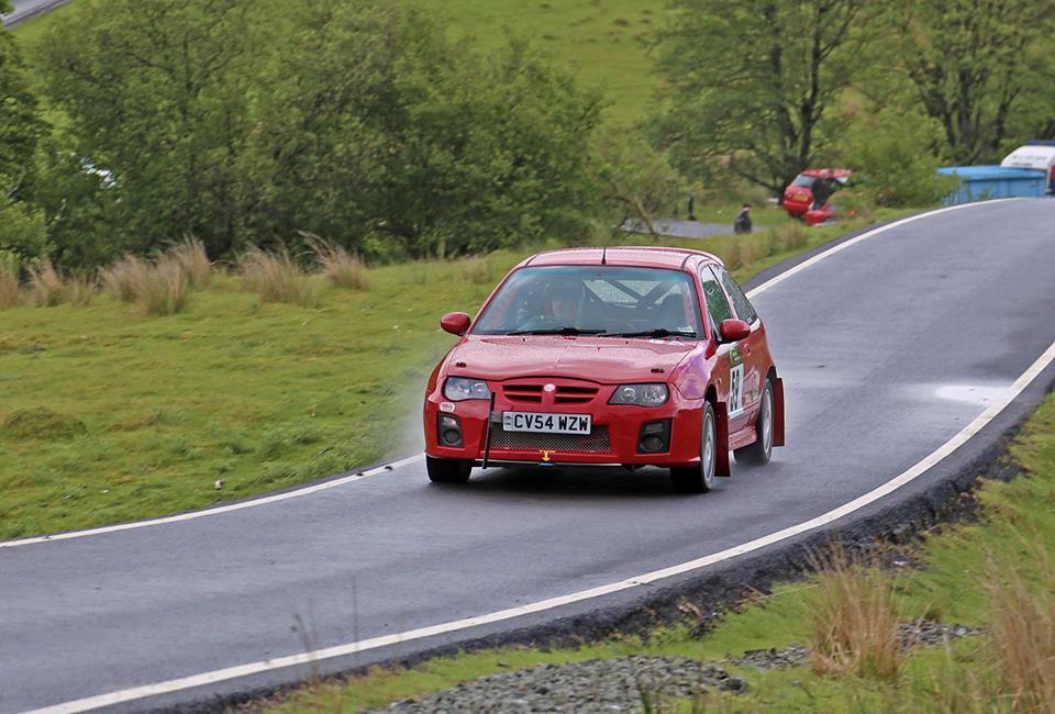 Mg zr rally car