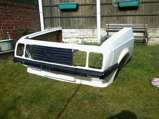 Escort Mk2 Rs2000 Fibre Glass Front End