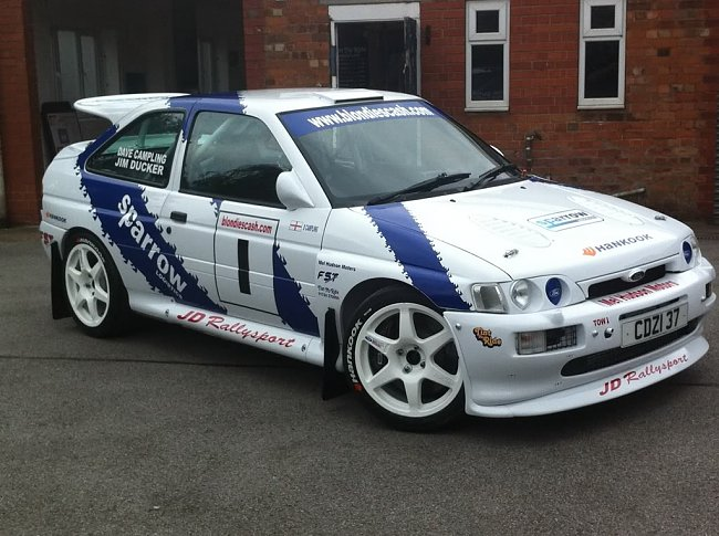 Grpa Escort Cosworth 96 Spec Rally Car