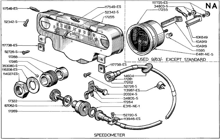 WHAT CIRCLIP SECURE SPEEDO CABLE TO 2000E GEARBOX(3 rail)?